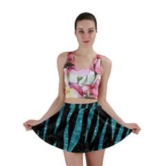 SKN3 BK-MRBL WATR1 Mini Skirt by trendistuff