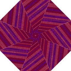 Maroon Striped Texture Straight Umbrellas by Mariart