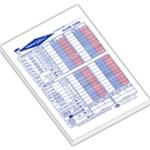 Yatzee triple score sheet - Large Memo Pads