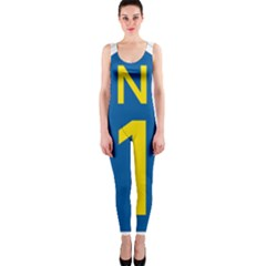 South Africa National Route N1 Marker Onepiece Catsuit by abbeyz71