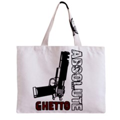 Absolute Ghetto Zipper Mini Tote Bag by Valentinaart