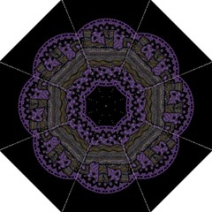 Ornate Mandala Elephant  Straight Umbrellas by Valentinaart