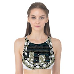 Ornate mandala elephant  Tank Bikini Top