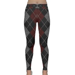 Wool Texture With Great Pattern Classic Yoga Leggings by BangZart