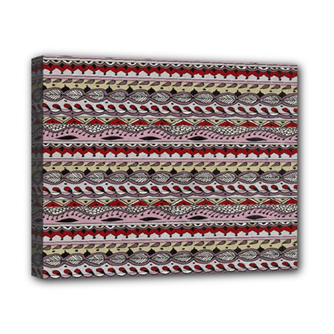 Aztec Pattern Patterns Canvas 10  X 8  by BangZart