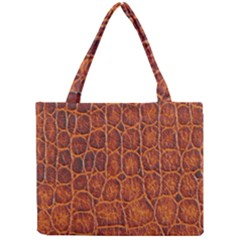 Crocodile Skin Texture Mini Tote Bag by BangZart
