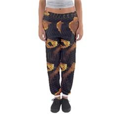 Gold Snake Skin Women s Jogger Sweatpants by BangZart