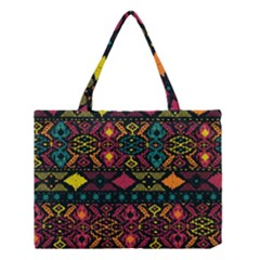 Bohemian Patterns Tribal Medium Tote Bag by BangZart