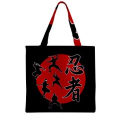 Ninja Grocery Tote Bag by Valentinaart