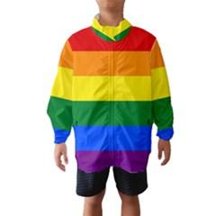 Pride rainbow flag Wind Breaker (Kids)