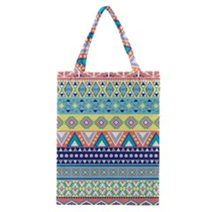 Tribal Print Classic Tote Bag by BangZart