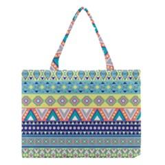 Tribal Print Medium Tote Bag by BangZart