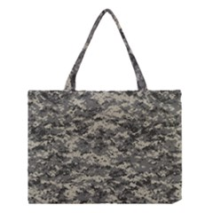 Us Army Digital Camouflage Pattern Medium Tote Bag by BangZart