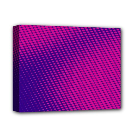 Purple Pink Dots Deluxe Canvas 14  X 11  by BangZart
