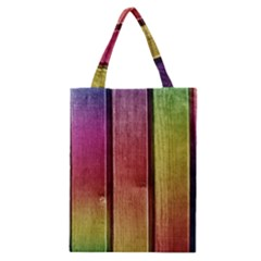 Colourful Wood Painting Classic Tote Bag by BangZart