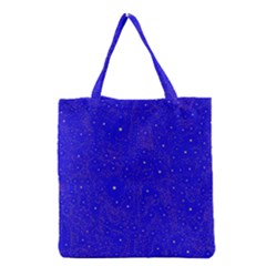 Awesome Allover Stars 01f Grocery Tote Bag by MoreColorsinLife