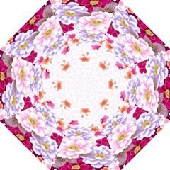 Sweet Flowers Hook Handle Umbrellas (large) by BangZart