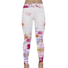 Sweet Flowers Classic Yoga Leggings