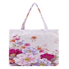 Sweet Flowers Medium Tote Bag by BangZart
