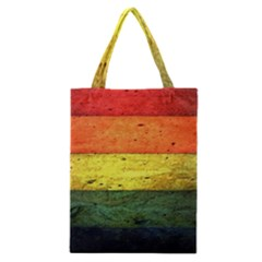Five Wall Colour Classic Tote Bag by BangZart