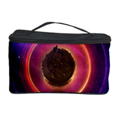 The Little Astronaut On A Tiny Fractal Planet Cosmetic Storage Case by beautifulfractals