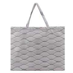 Roof Texture Zipper Large Tote Bag by BangZart