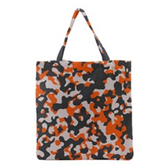 Camouflage Texture Patterns Grocery Tote Bag by BangZart