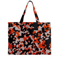 Camouflage Texture Patterns Zipper Mini Tote Bag by BangZart