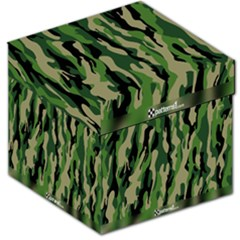 Green Military Vector Pattern Texture Storage Stool 12   by BangZart