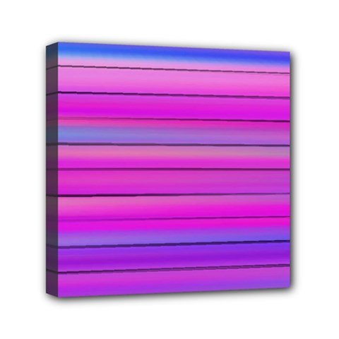 Cool Abstract Lines Mini Canvas 6  X 6  by BangZart