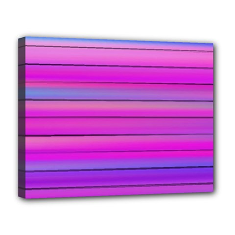 Cool Abstract Lines Canvas 14  X 11  by BangZart