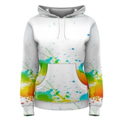 Colorful Abstract Women s Pullover Hoodie