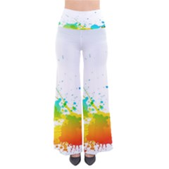 Colorful Abstract Pants by BangZart