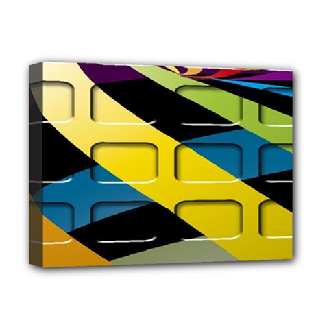 Colorful Docking Frame Deluxe Canvas 16  X 12   by BangZart