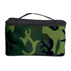 Military Camouflage Pattern Cosmetic Storage Case by BangZart