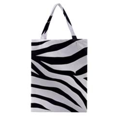 White Tiger Skin Classic Tote Bag by BangZart