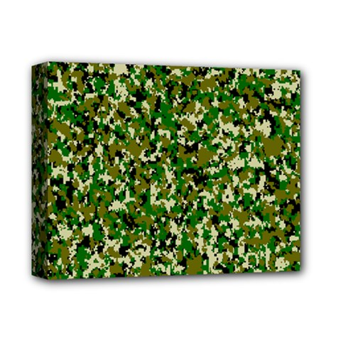 Camo Pattern Deluxe Canvas 14  X 11  by BangZart