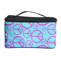 Peace Sign Backgrounds Cosmetic Storage Case by BangZart