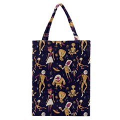 Alien Surface Pattern Classic Tote Bag by BangZart
