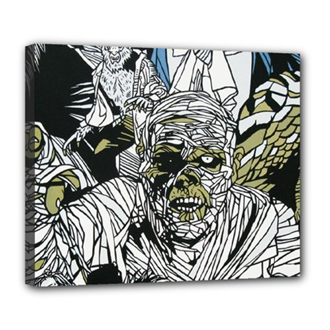 The Monster Squad Deluxe Canvas 24  X 20   by BangZart