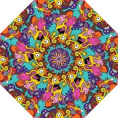 Monster Patterns Hook Handle Umbrellas (large) by BangZart