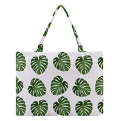 Leaf Pattern Seamless Background Medium Tote Bag by BangZart