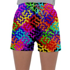 3d Fsm Tessellation Pattern Sleepwear Shorts
