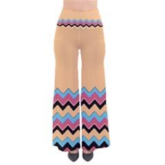 Chevrons Patterns Colorful Stripes Pants by BangZart