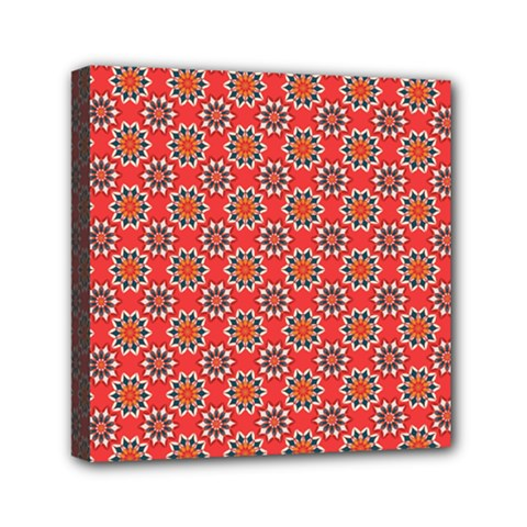 Floral Seamless Pattern Vector Mini Canvas 6  X 6  by BangZart