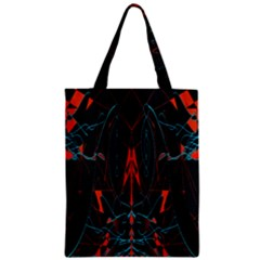 Doodle Art Pattern Background Zipper Classic Tote Bag by BangZart