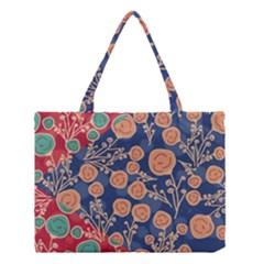 Floral Seamless Pattern Vector Texture Medium Tote Bag by BangZart