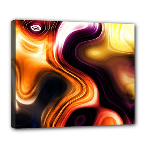 Colourful Abstract Background Design Deluxe Canvas 24  X 20   by BangZart