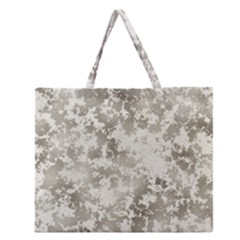 Wall Rock Pattern Structure Dirty Zipper Large Tote Bag by BangZart