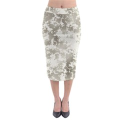 Wall Rock Pattern Structure Dirty Midi Pencil Skirt by BangZart